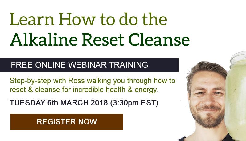 alkaline cleanse webinar invite