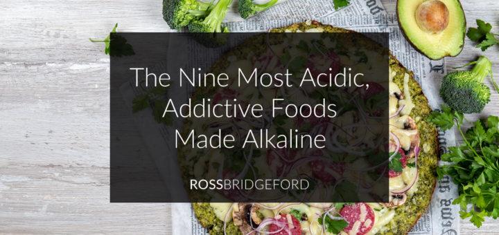 addictive foods made alkaline