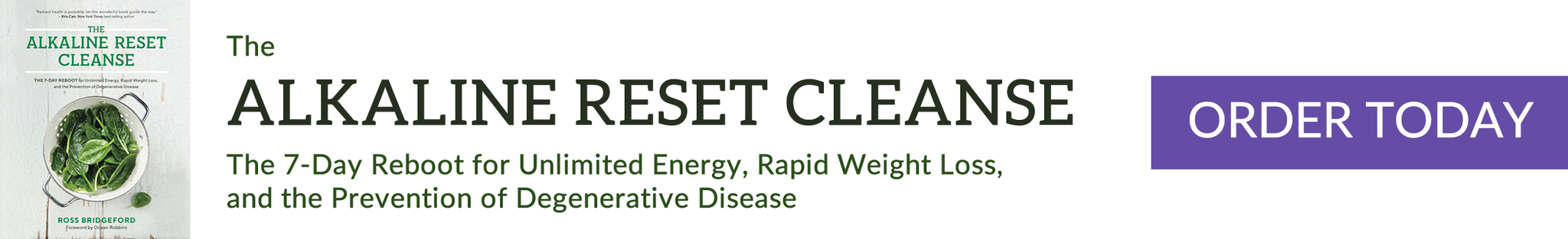 Alkaline Reset Cleanse book banner