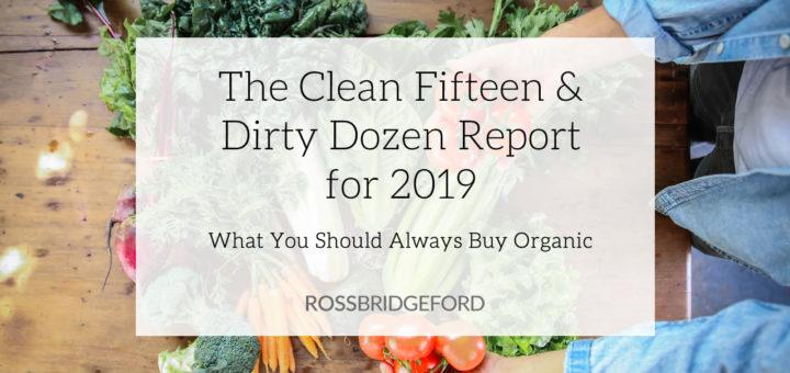 clean fifteen & dirty dozen EWG