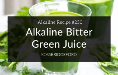 alkaline bitter green juice