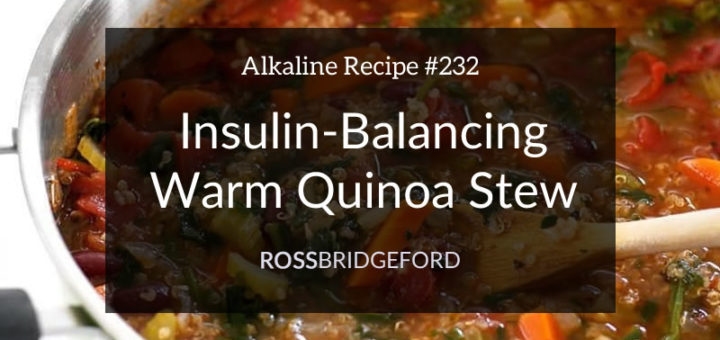 quinoa stew for insulin resistance
