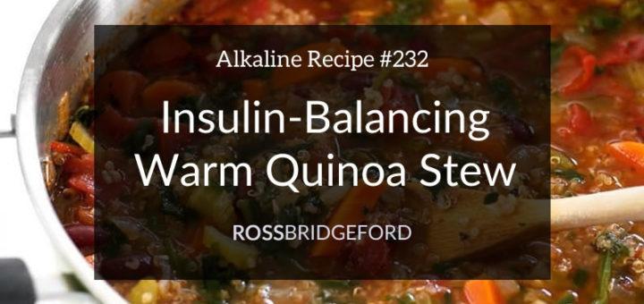 quinoa stew for insulin resistance