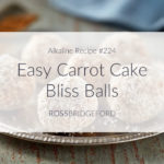 carrot cake bliss balls featured image
