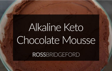 alkaline keto chocolate mousse