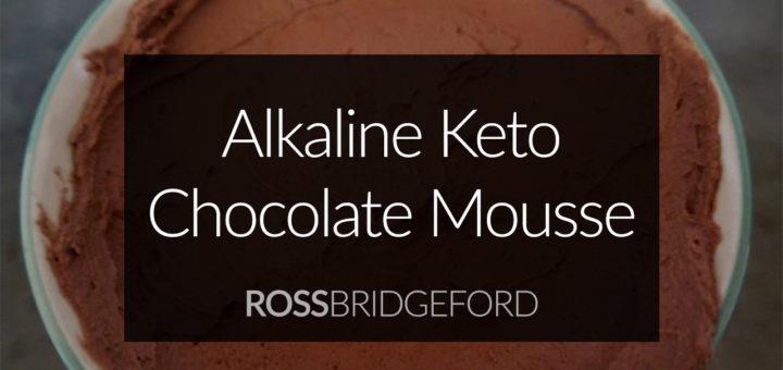 alkaline keto chocolate mousse
