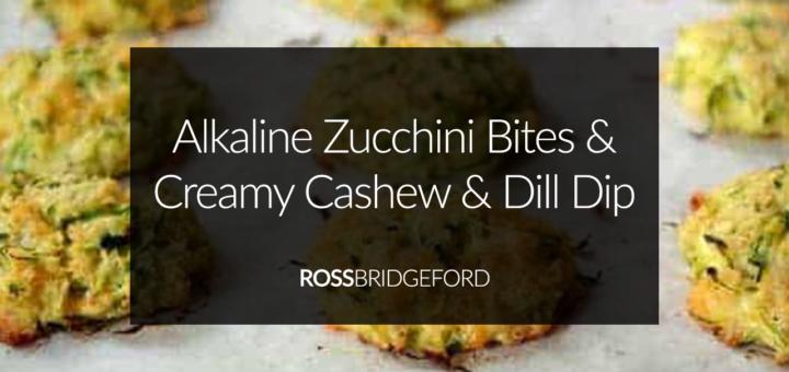 alkaline zucchini bites