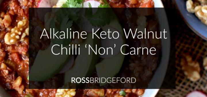 Alkaline Keto Chilli Recipe
