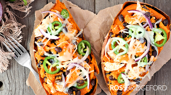 alkaline recipe: sweet potatoes mexican style