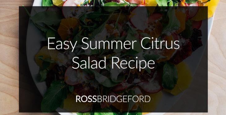 Easy Summer Salad: Citrus & Fennel