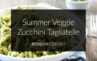 Summer Vegetable Zucchini Pasta