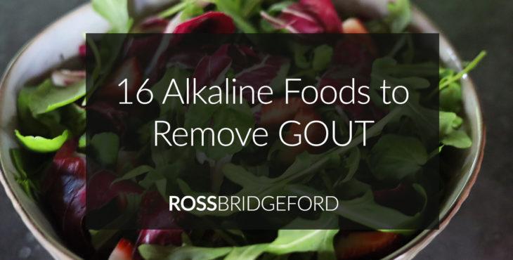 alkaline foods for gout header