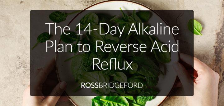 alkaline diet plan for reflux GERD