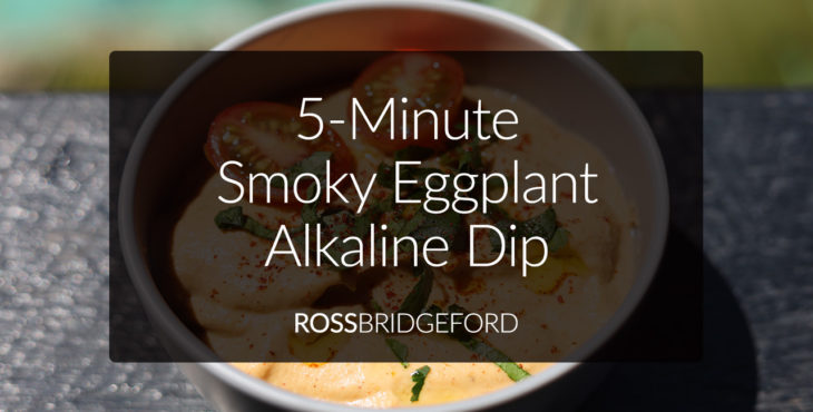 smoky eggplant alkaline dip